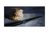 Scone and Knife, 2009 Giclee Print by James Gillick