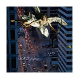 Downtown Angel, 2007 Giclee Print by Trygve Skogrand