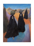 Egyptian Shrouded Water Carriers, 1965 Giclee Print by Bettina Shaw-Lawrence