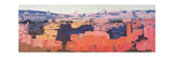 Rome, View from the Spanish Academy on the Gianicolo, Sunset, 1968 Giclee Print by Izabella Godlewska de Aranda