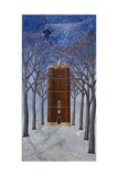 Alfred's Tower:Blue, 2005 Giclee Print by Richard Pomeroy