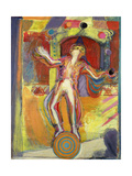 The Juggler, 1992 Giclee Print by Pamela Scott Wilkie