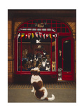 Portal Pet Show, 1993 Giclee Print by Frances Broomfield