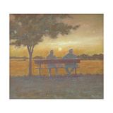 Sunset Giclee Print by Simon Cook