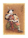 Samurai Doll, 1997 Giclee Print by Sandra Lawrence