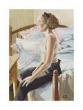 Self Portrait Giclee Print by Caroline Jennings