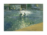 Crossing the Light Break, Henley Giclee Print by Timothy Easton