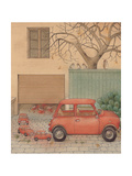 Automobile, 2005 Giclee Print by Kestutis Kasparavicius