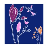 Freesia Giclee Print by Anna Platts