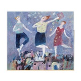 All Singing and Dancing, 2004 Giclee Print by Susan Bower