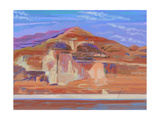 Painted Cliffs, Lake Powell Giclee Print by Howard Ganz
