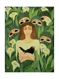The Prisoner, 1988 Giclee Print by Laila Shawa