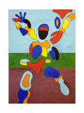 The Athlete, Disintegrating at the Moment of His Triumph, 2007 Giclee Print by Jan Groneberg