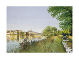 Hammersmith Bridge Giclee Print by Isabel Hutchison
