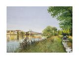 Hammersmith Bridge Giclee Print by Isabel Hutchison