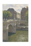 Pont Neuf, 2010 Giclee Print by Julian Barrow