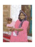 Pretty Baby, Stonetown, Zanzibar Giclee Print by Kate Yates