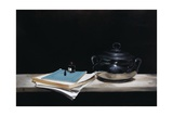 Silver Pot, Paper, Pen and Ink, 2009 Giclee Print by James Gillick
