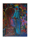Lady in Blue, 2003 Giclee Print by Sabina Nedelcheva-Williams
