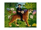 Henri Rousseau's Dream, 1997 Giclee Print by Frances Broomfield