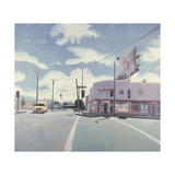 AA Liquor Store, Los Angeles, 2001 Giclee Print by Peter Wilson