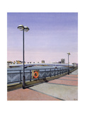 Wandsworth Bridge, 1994 Giclee Print by Isabel Hutchison