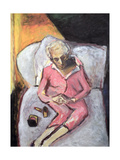 Woman with Lipstick Giclee Print by Julie Held