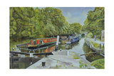 Knowle Top Lock, 2003 Giclee Print by Kevin Parrish