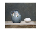 French Jug and Duck Egg, 2009 Giclee Print by James Gillick