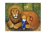 The Lion and Albert, 2001 Giclee Print by Frances Broomfield