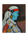 Bulgarian Woman, 1999 Giclee Print by Sabina Nedelcheva-Williams
