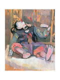 Thai Puppet with Mirror, 1989 Giclee Print by Erin Townsend