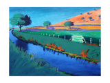 River Teme Giclee Print by Paul Powis