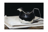 George III Silver Cream Jug, 2009 Giclee Print by James Gillick