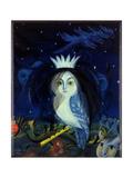 Magdolna Ban - The Magic of the Flute, 2002 Digitálně vytištěná reprodukce