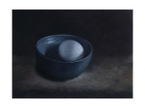 Duck Egg in Blue Bowl, 2009 Giclee Print by James Gillick