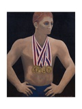 Roman Medal Winner, 1977 Giclee Print by Bettina Shaw-Lawrence