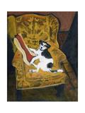 Wesley Reclining, 2003 Giclee Print by Margaret Hartnett
