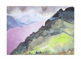 Loch Ness from Glendoe Lodge, 1995 Giclee Print by Izabella Godlewska de Aranda