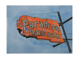 Paradise Motel, 2006 Giclee Print by Lucy Masterman