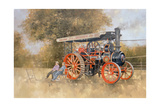 Traction Engine at the Great Eccleston Show, 1998 Giclee Print by Peter Miller