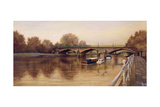Twickenham Bridge, 1994 Giclee Print by Isabel Hutchison