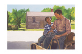 A Son's Comfort, 2003 Giclee Print by Colin Bootman