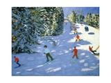 Gondola, Austrian Alps, 2004 Giclee Print by Andrew Macara