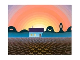 Before Sunrise, 1993 Giclee Print by Emil Parrag