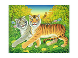Tyger/Tyger, 2002 Giclee Print by Frances Broomfield