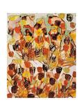 Wild Flowers, C.1970 Giclee Print by Sir Sidney Nolan