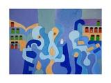 Inside the Pharmacy, 2009 Giclee Print by Jan Groneberg