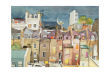 View from Rear Window of 48 Chester Square, SW1, 1982 Giclee Print by Izabella Godlewska de Aranda