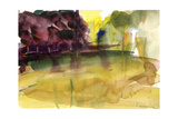 Parc in Normandy, 1992 Giclee Print by Claudia Hutchins-Puechavy